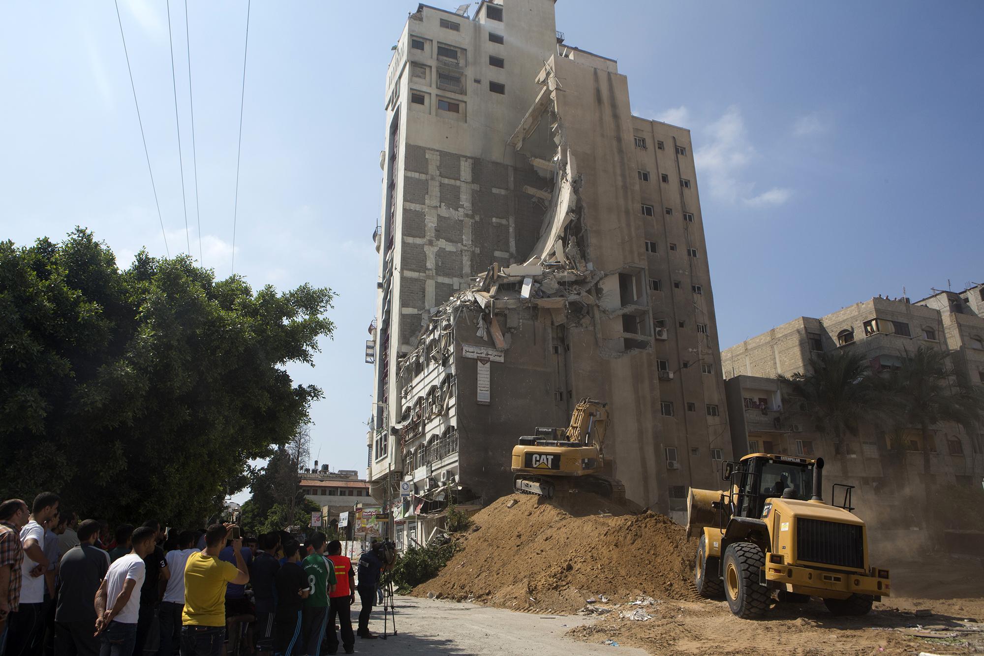 Gaza under attack, 22.7.2014